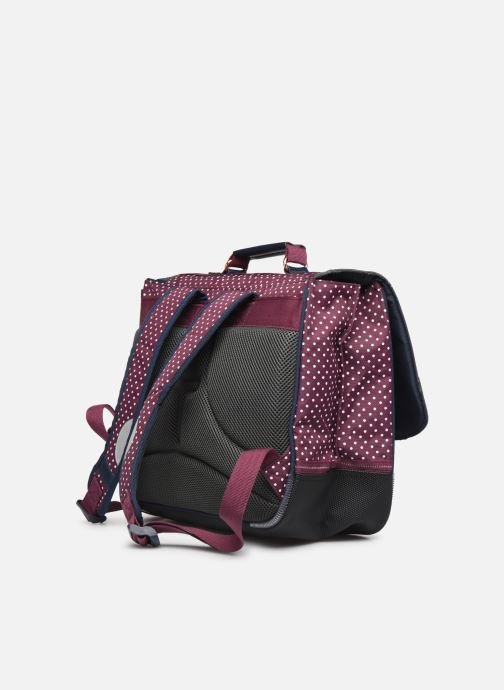 School bags Tann's MIKI 38CM Burgundy view from the right