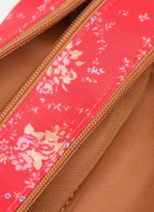 School bags Tann's LONDON TROUSSE DOUBLE Pink back view
