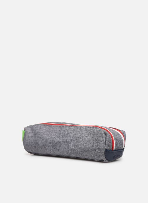 School bags Tann's LIGHT TROUSSE DOUBLE Grey model view