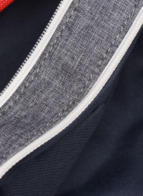 School bags Tann's LIGHT TROUSSE DOUBLE Grey back view