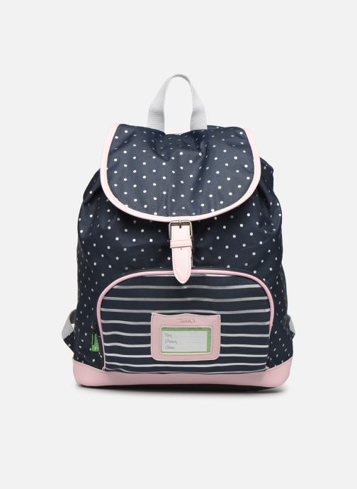 School bags Tann's SAC A DOS JADE Blue detailed view/ Pair view