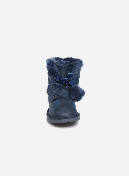 Bottines et boots Fresas by Conguitos Jl5 542 02 Bleu vue portées chaussures
