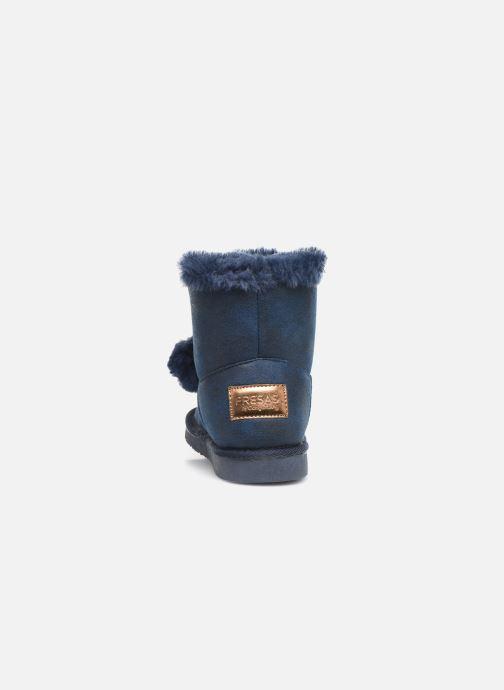 Bottines et boots Fresas by Conguitos Jl5 542 02 Bleu vue droite