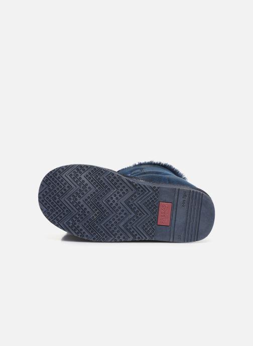 Bottines et boots Fresas by Conguitos Jl5 542 02 Bleu vue haut