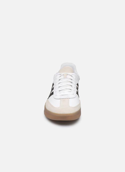 Baskets adidas originals Samba Rm Blanc vue portées chaussures