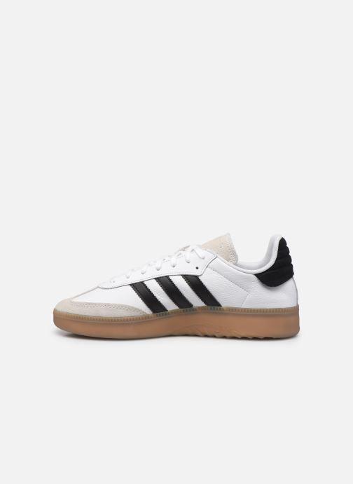 Deportivas adidas originals Samba Rm Blanco vista de frente