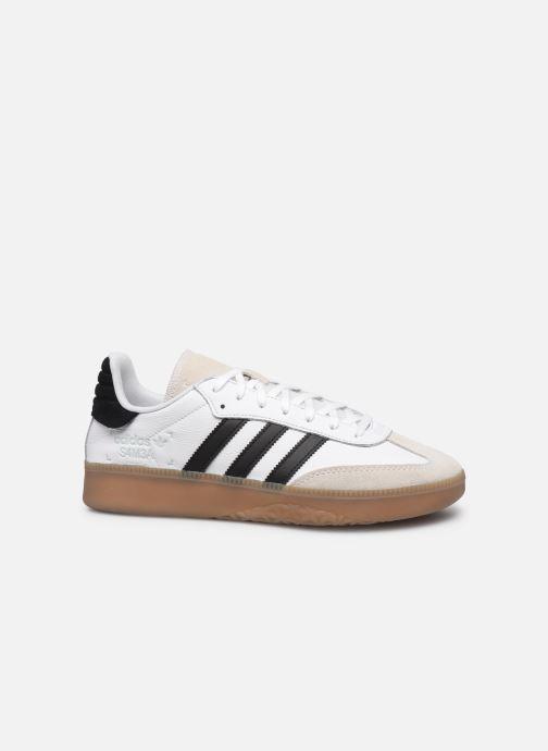 Baskets adidas originals Samba Rm Blanc vue derrière