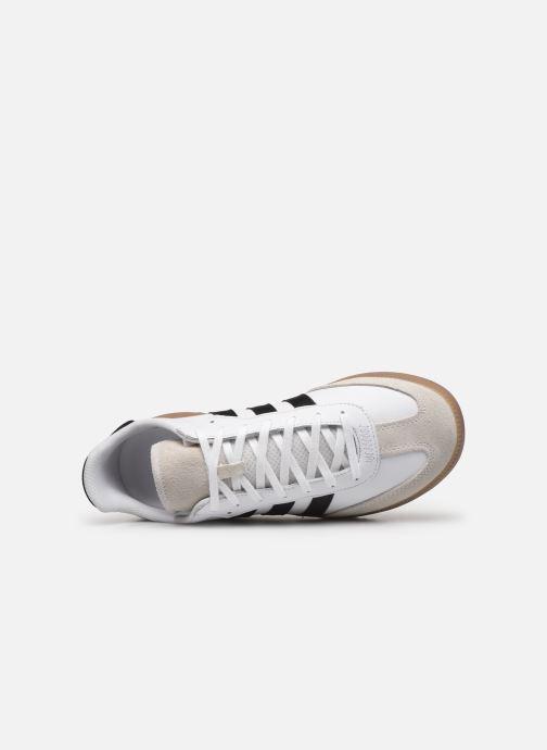 Baskets adidas originals Samba Rm Blanc vue gauche