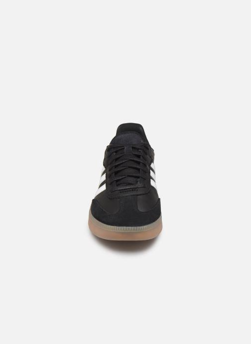 Baskets adidas originals Samba Rm Noir vue portées chaussures
