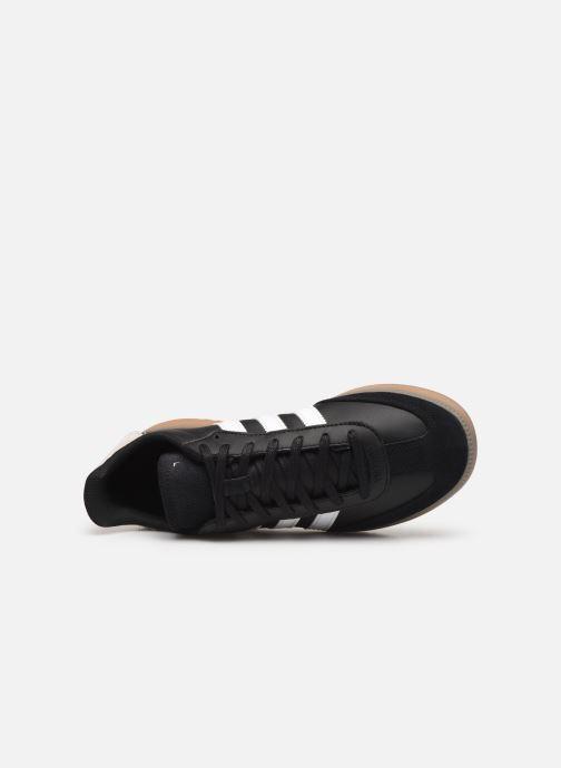 Baskets adidas originals Samba Rm Noir vue gauche