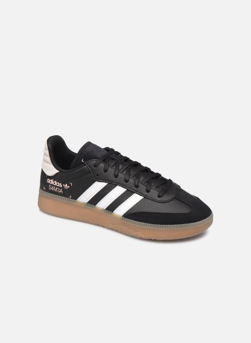 Baskets adidas originals Samba Rm Noir vue détail/paire