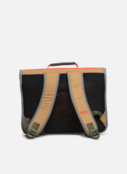 Scolaire IKKS ARMY 38CM Orange vue face