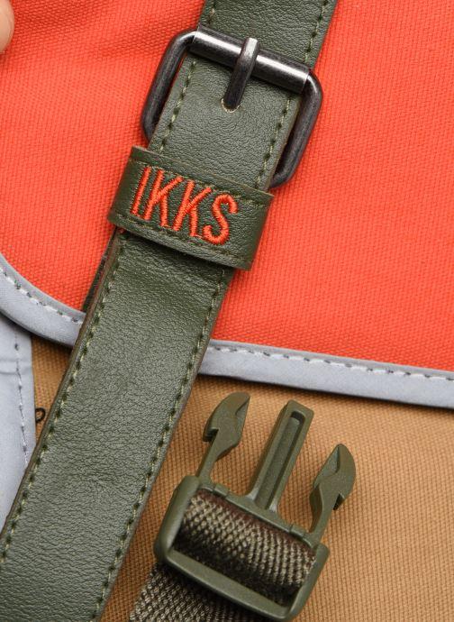 Scolaire IKKS ARMY 38CM Orange vue gauche