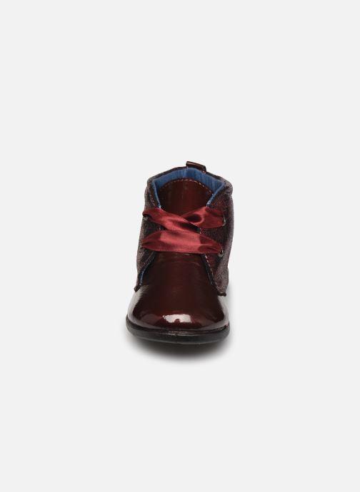 Chaussures à lacets Osito by Conguitos JlS 122 11 Bordeaux vue portées chaussures