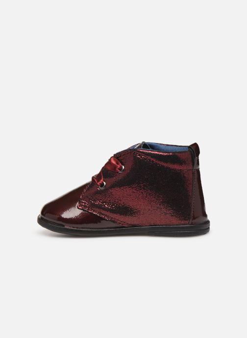 Chaussures à lacets Osito by Conguitos JlS 122 11 Bordeaux vue face