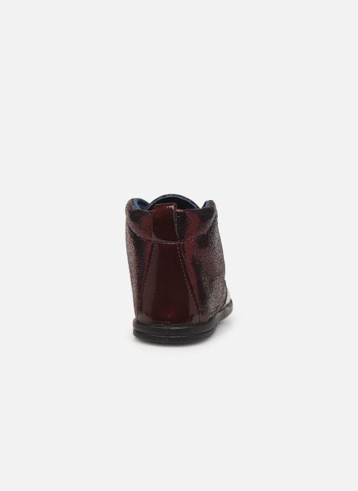 Zapatos con cordones Osito by Conguitos JlS 122 11 Vino vista lateral derecha