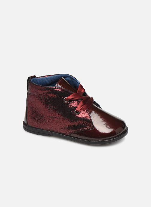 Chaussures à lacets Osito by Conguitos JlS 122 11 Bordeaux vue détail/paire