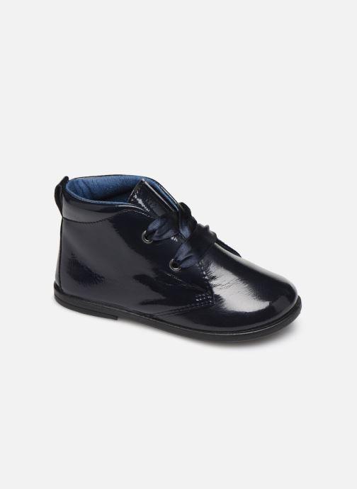 Chaussures à lacets Osito by Conguitos JlS 122 09 Bleu vue détail/paire
