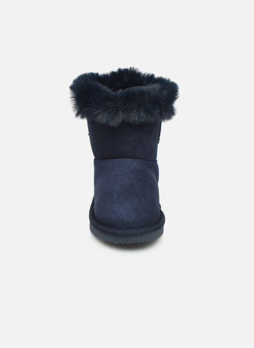Bottes Osito by Conguitos JlS 140 51 Bleu vue portées chaussures