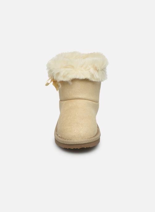 Stiefel Osito by Conguitos JlS 140 62 beige schuhe getragen