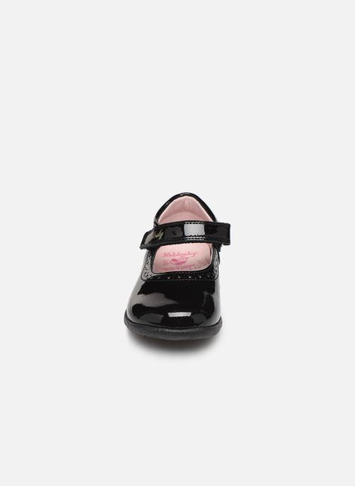 Ballerines Pablosky Elva Noir vue portées chaussures