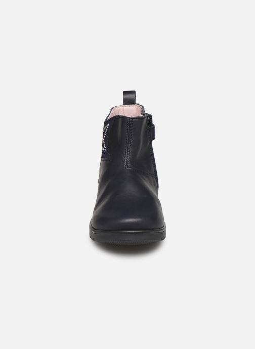 Bottines et boots Pablosky Dita Bleu vue portées chaussures
