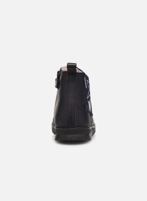 Bottines et boots Pablosky Dita Bleu vue droite