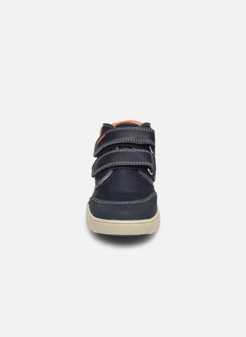 Baskets Pablosky Piero Bleu vue portées chaussures