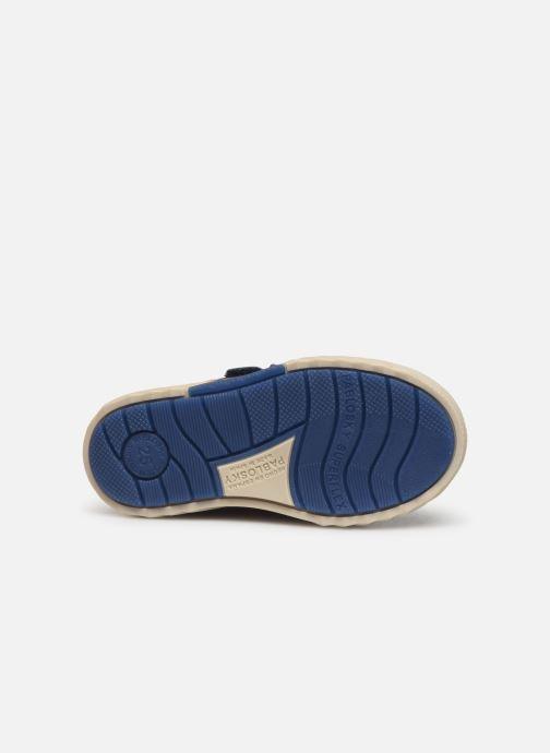 Baskets Pablosky Piero Bleu vue haut