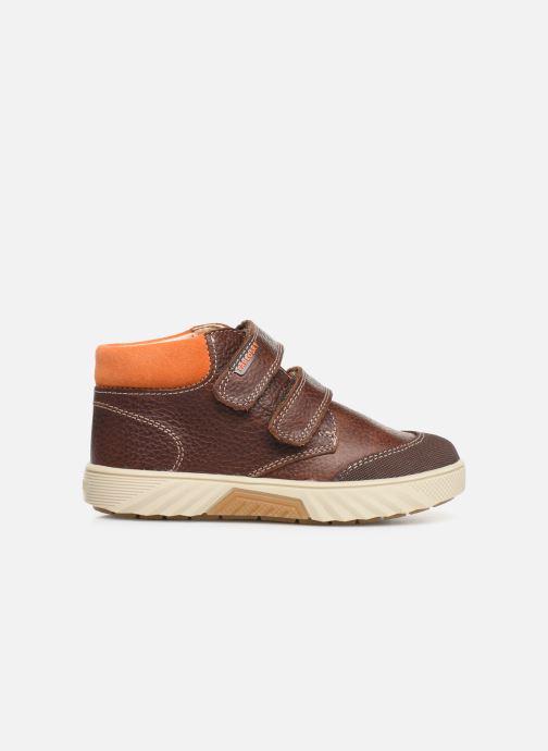Sneakers Pablosky Piero Bruin achterkant