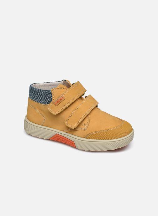 Sneakers Pablosky Piero Gul detaljeret billede af skoene
