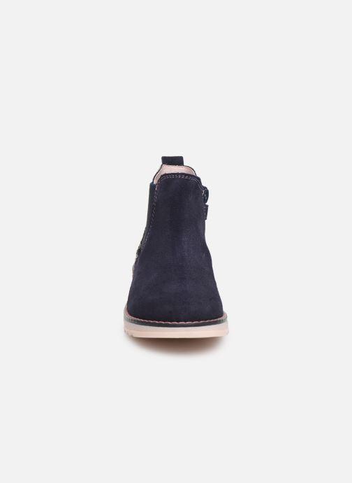Bottines et boots Pablosky Annita Bleu vue portées chaussures