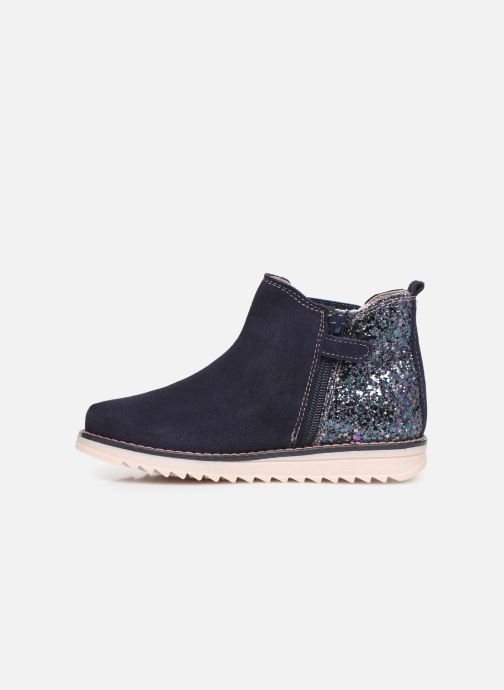 Bottines et boots Pablosky Annita Bleu vue face