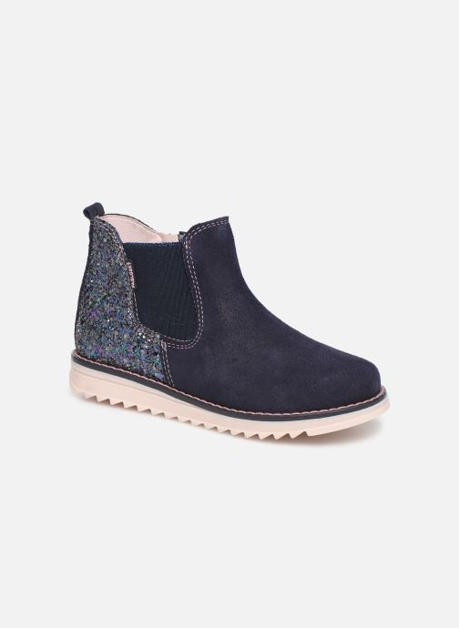 Ankle boots Pablosky Annita Blue detailed view/ Pair view