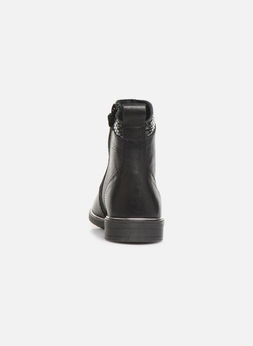 Bottines et boots Pablosky Carma Noir vue droite