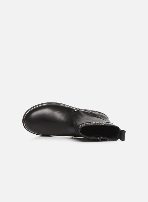 Bottines et boots Pablosky Carma Noir vue gauche