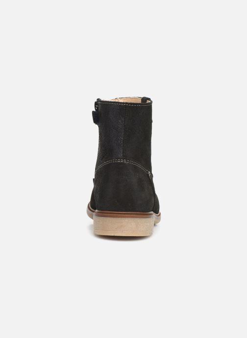 Bottines et boots Pablosky Isa Bleu vue droite