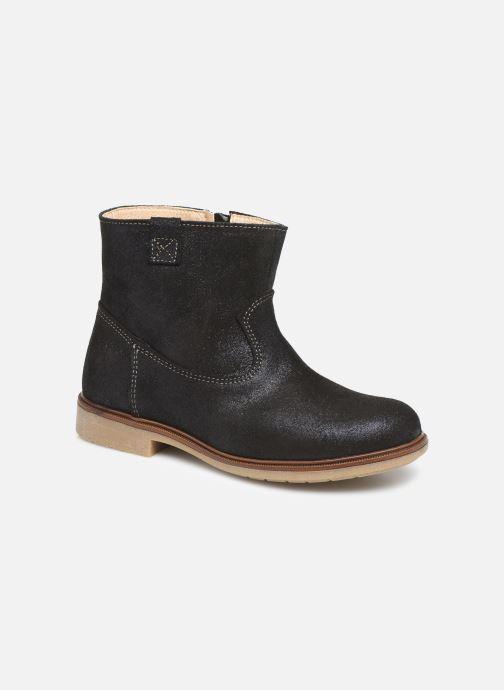 Bottines et boots Pablosky Isa Bleu vue détail/paire
