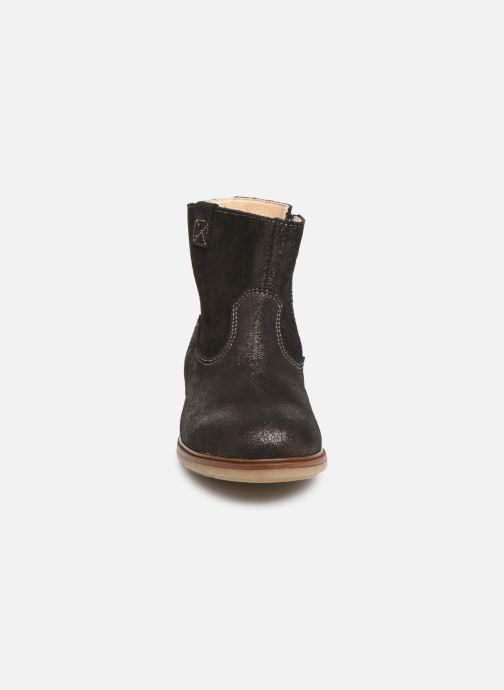 Bottines et boots Pablosky Isa Gris vue portées chaussures