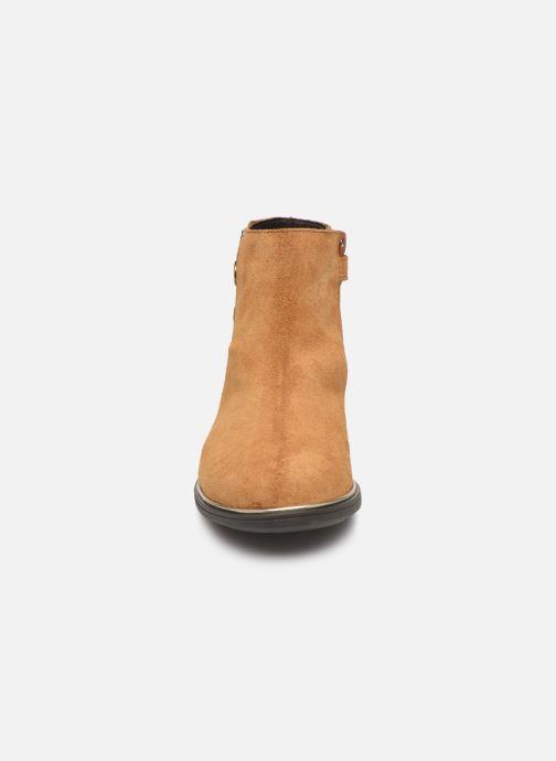 Bottines et boots Pablosky Mila Marron vue portées chaussures