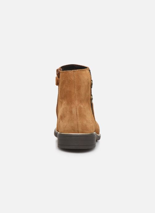Bottines et boots Pablosky Mila Marron vue droite
