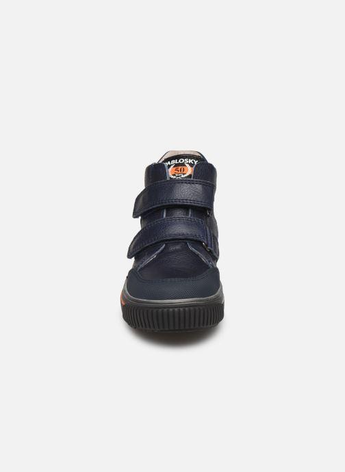 Baskets Pablosky Anto Bleu vue portées chaussures