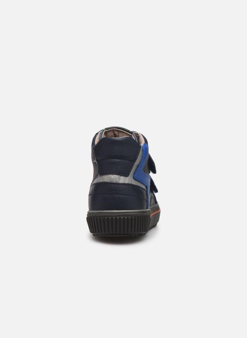 Baskets Pablosky Anto Bleu vue droite