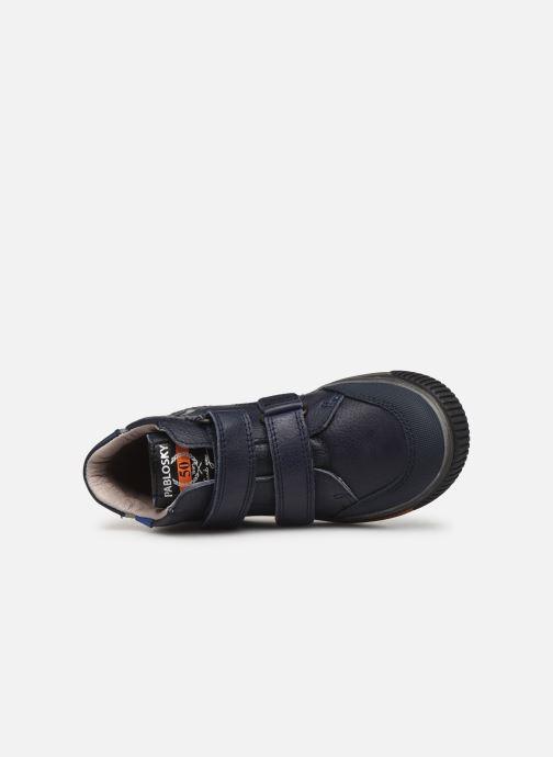 Sneaker Pablosky Anto blau ansicht von links