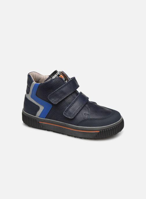 Baskets Pablosky Anto Bleu vue détail/paire