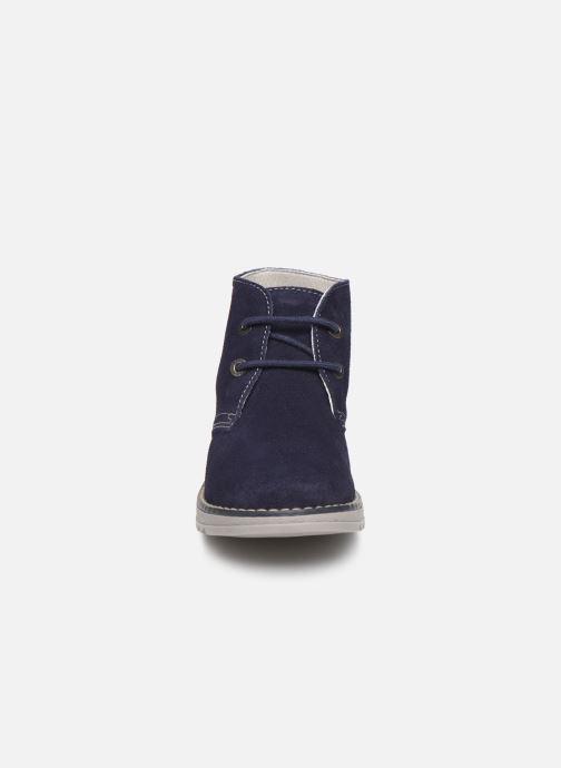 Chaussures à lacets Pablosky Felip Bleu vue portées chaussures