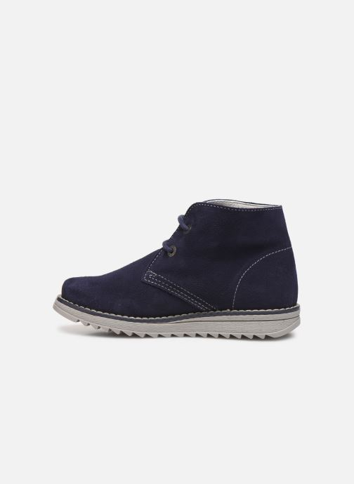 Chaussures à lacets Pablosky Felip Bleu vue face