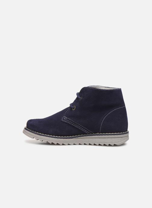 Zapatos con cordones Pablosky Felip Azul vista de frente