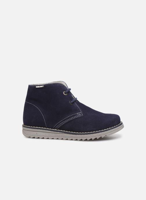 Zapatos con cordones Pablosky Felip Azul vistra trasera