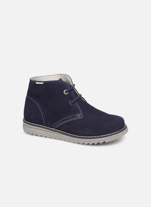 Zapatos con cordones Pablosky Felip Azul vista de detalle / par